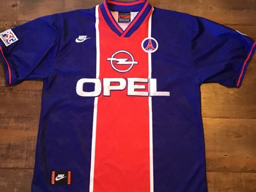 1995 1996 PSG Paris Saint Germain Football Shirt Large